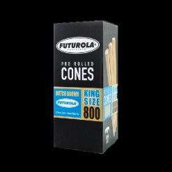 Futurola Dutch Brown Pre Roll Cones -King Size