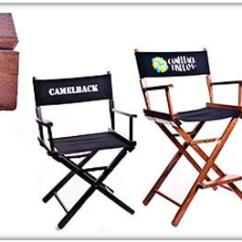 Customized Directors Chair Tommy Bahama Beach Chairs At Costco Gold Metal Personalized Medal Commercial Director
