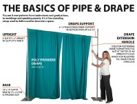 Pipe and Drape | Pipe & Drape Systems | Trade Show Pipe ...
