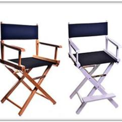 Customized Directors Chair Harley Davidson Table And Chairs Gold Metal Personalized Star Director