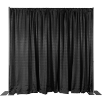 8ft High Pipe and Drape Backdrop Wall Kit | Camelback Displays