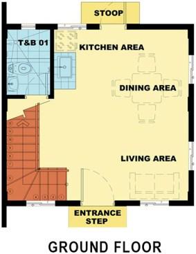 camella palawan bella ground floor plan