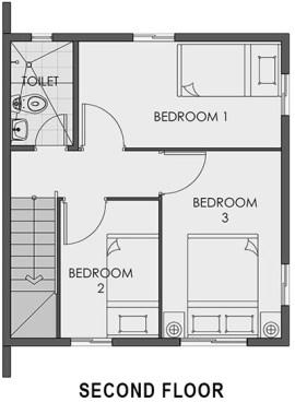 camella bohol second floor plan