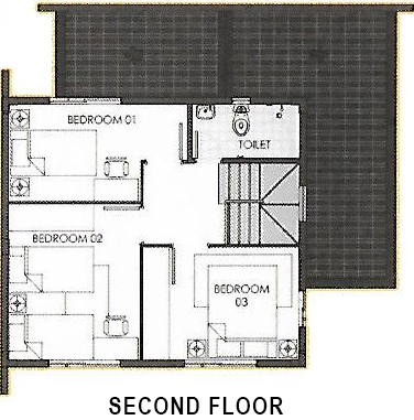 camella quezon ella second floor plan