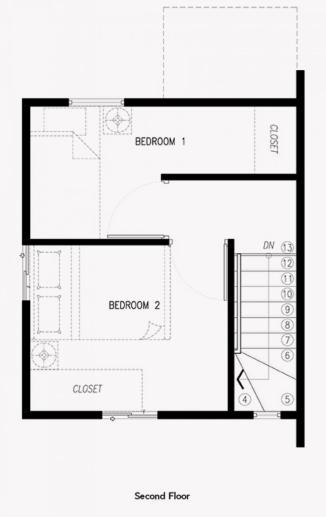 criselle house second floor plan