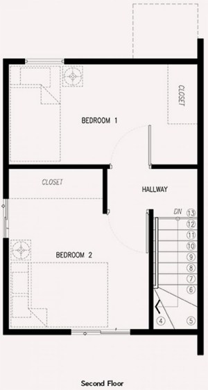 ezabelle house second floor plan