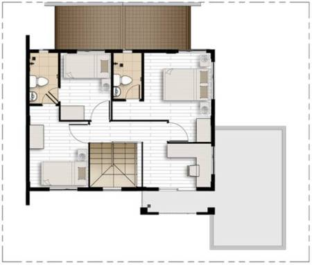 camella homes freya second floor plan