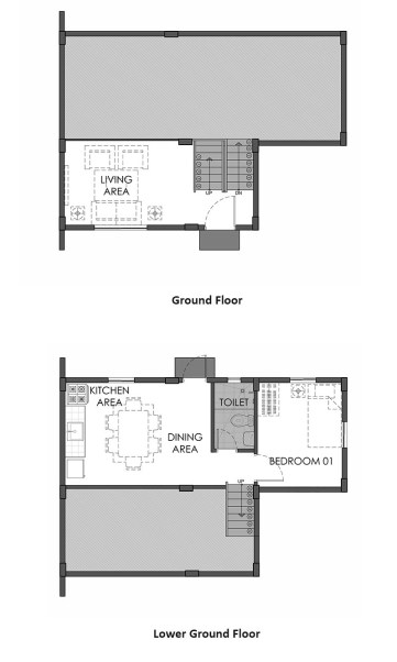 camella azienda cebu janna ground floor plan