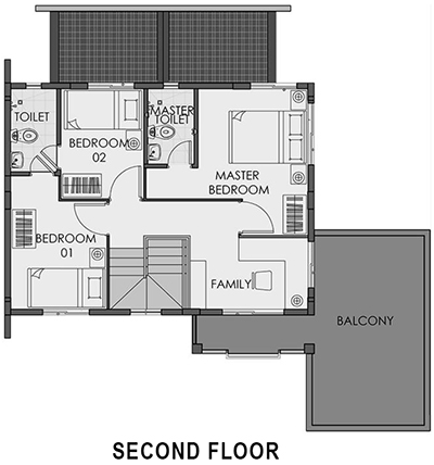 camella cerritos freya second floor plan