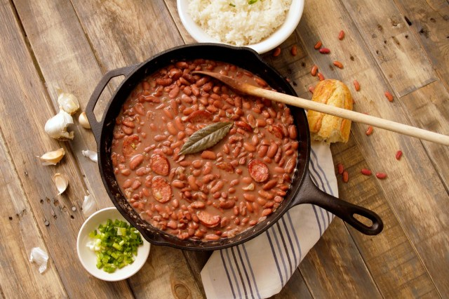 Camellia's Famous New Orleans-Style Red Beans and Rice