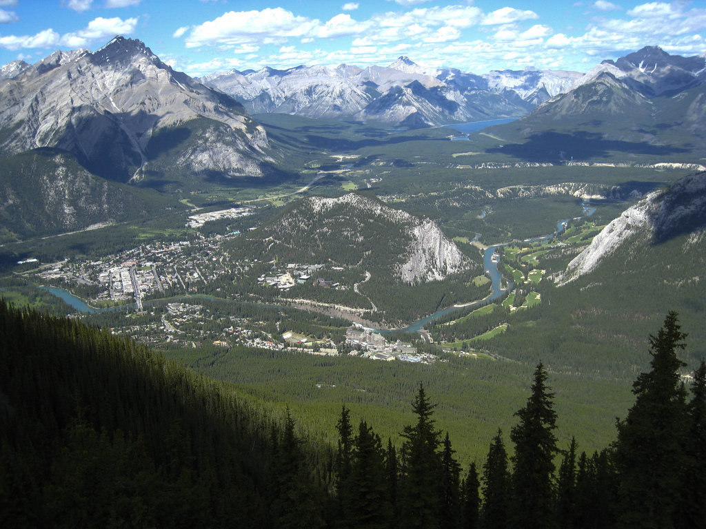 Welcome to Banff, the Prettiest Place on the Planet