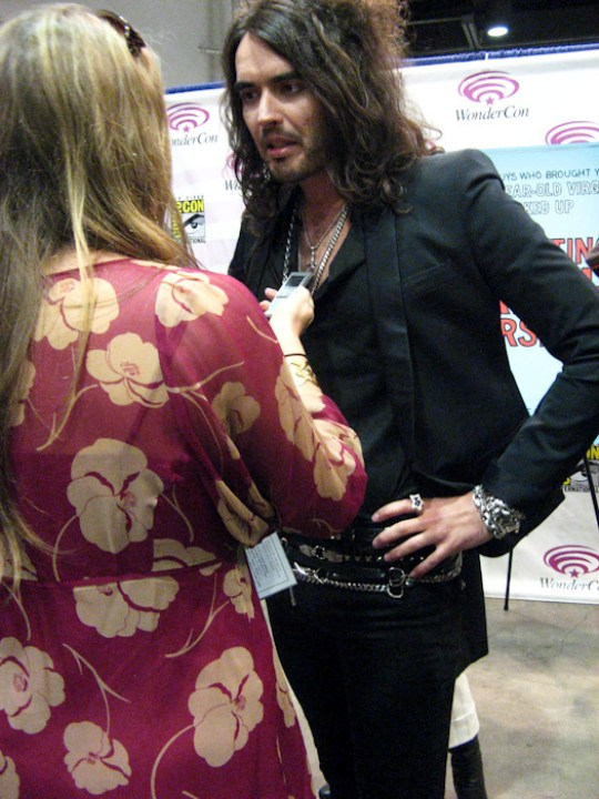 Russell Brand at WonderCon in San Francisco