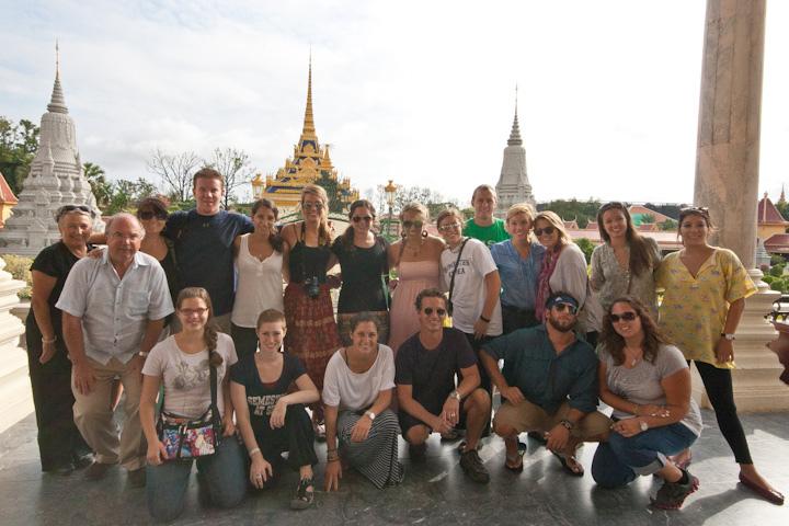 Cambodia field trip on Semester at Sea