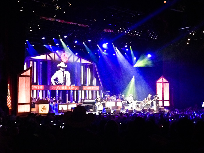 Jason Aldean at the Grand Ole Opry, Nashville