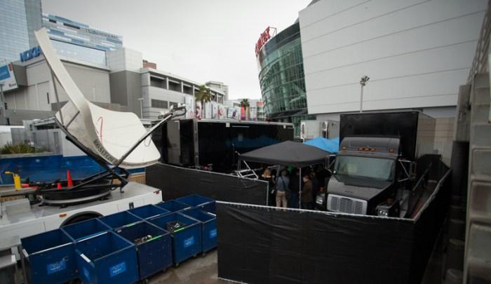 Staples Center at the GRAMMY Awards 2013