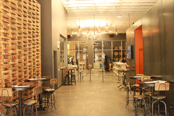 Bluxome Street Winery, San Francisco, California