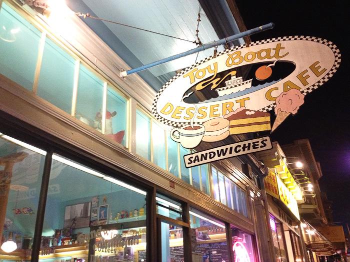 Toy Boat Dessert Cafe in San Francisco