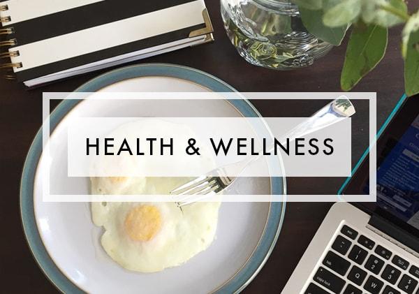 Posts on Health and Wellness