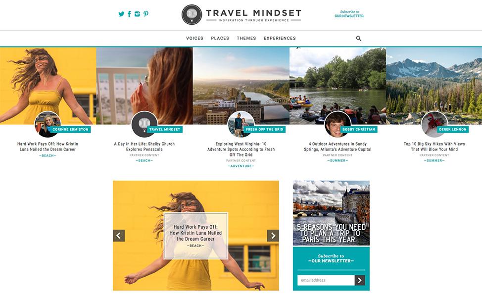 Travel Mindset feature on Kristin Luna