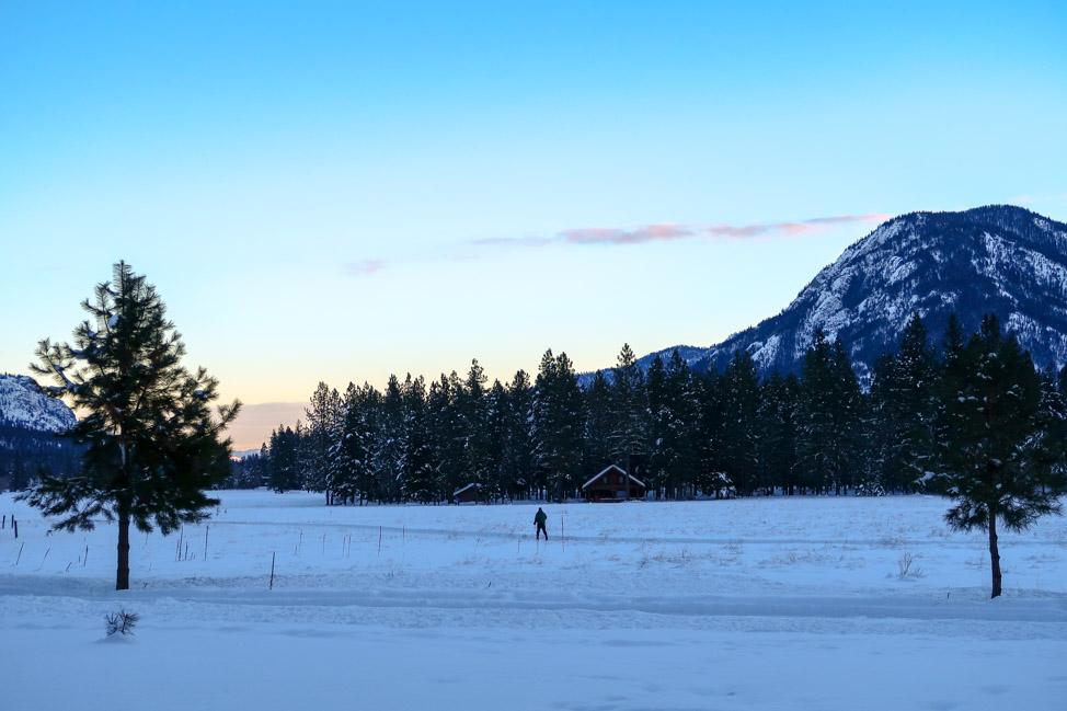 Nordic Skiing in Washington's Mazama Valley