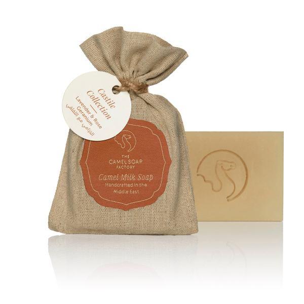 The Camel Soap Factory – Natural Camel Milk Skincare – Castile Collection – Lavender and Rose Geranium