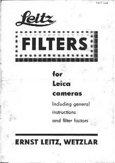 Leica Misc Printed Manual