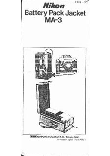 Nikon MF Printed Manual