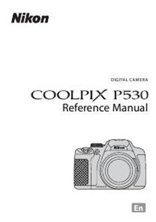 Nikon Coolpix P530 Printed Manual