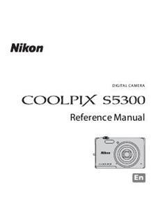 Nikon Coolpix S5300 Printed Manual