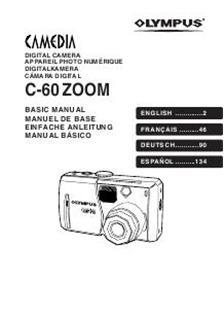 Olympus C 60 Zoom (Camera) Manuals