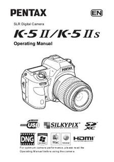 Pentax K 5 II Printed Manual