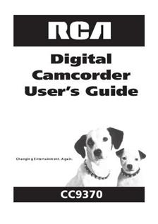 RCA CC9370 (Video) Manuals