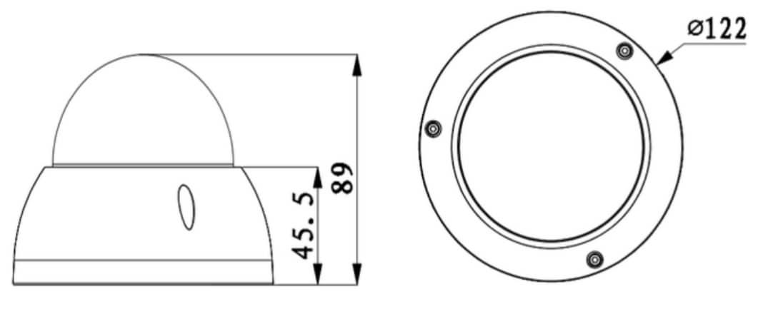 Caméra HDCVI Mini PTZ 4X Full HD 1080p IP66 IK10