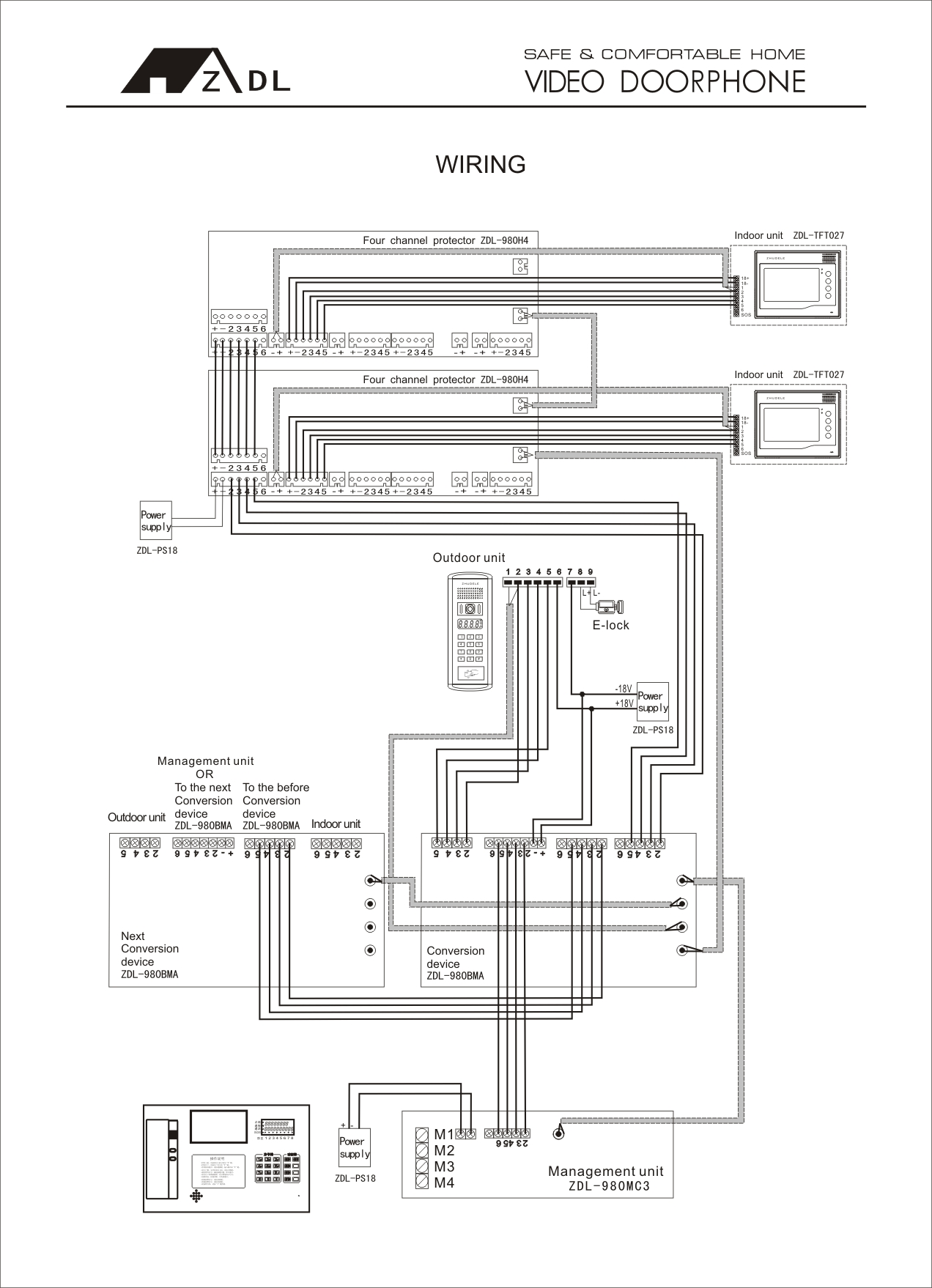 Video Door Phone Wiring Diagram : 31 Wiring Diagram Images
