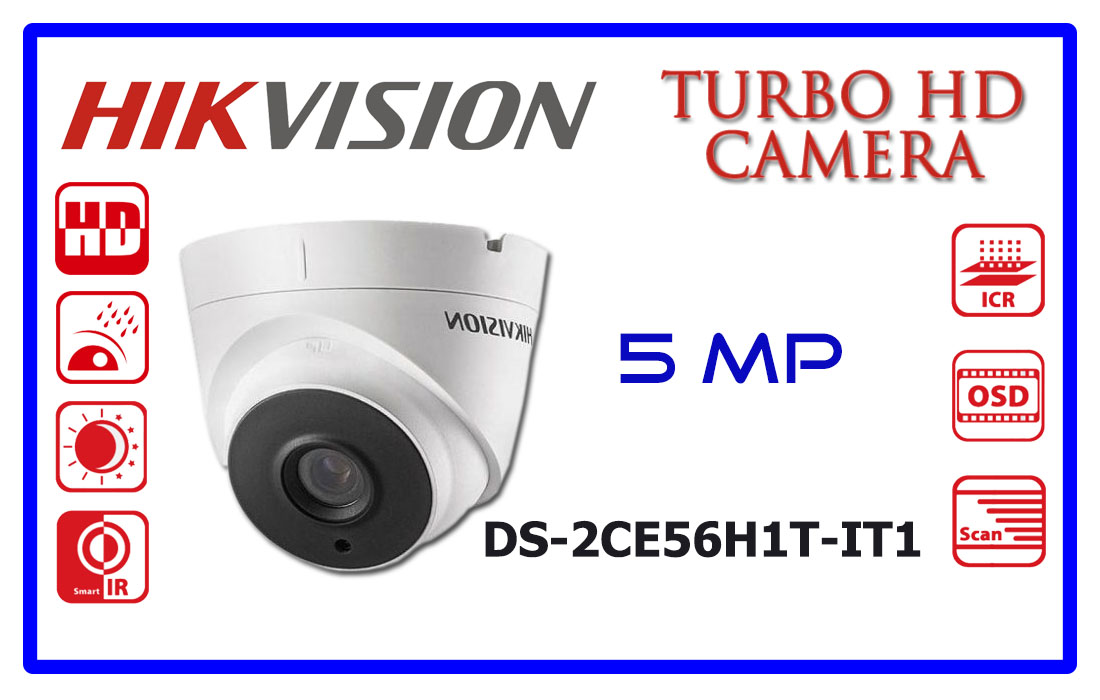 DS-2CE56H1T-IT1 HIKVISION CCTV CAMERA