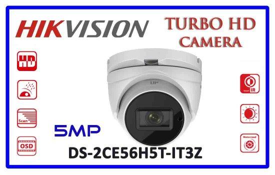 DS-2CE56H5T-IT3Z - Hikvision 5mp Turbo HD Camera Advanced Digital technology Colombo