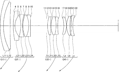 Nikon 18-55mm f/4-5.6 lens patent for a mirrorless APS-C