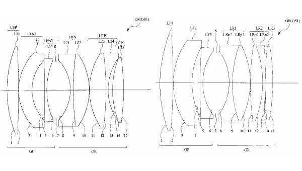 Nikon 58mm f/1.2 lens patent