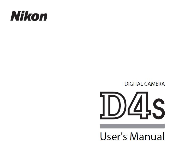 Nikon D4S User's Manual now Available for Download