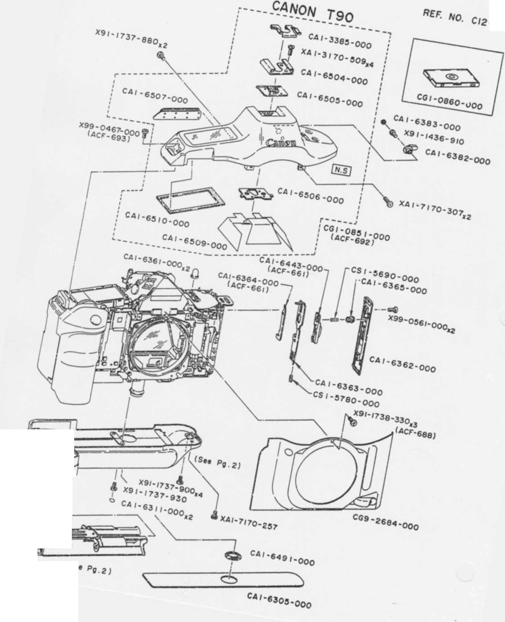 Individual Electrical Components Which May Require
