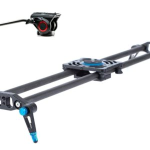 Slider met manfrotto kop