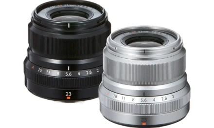 Fuji unveils XF23mm f/2 R WR lens