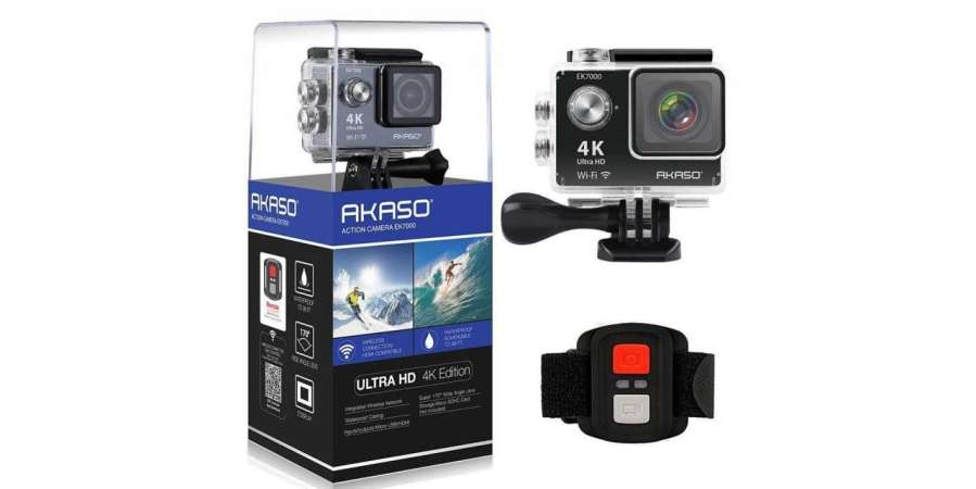 Daily Deal: get this AKASO 4K action cam for just £55!