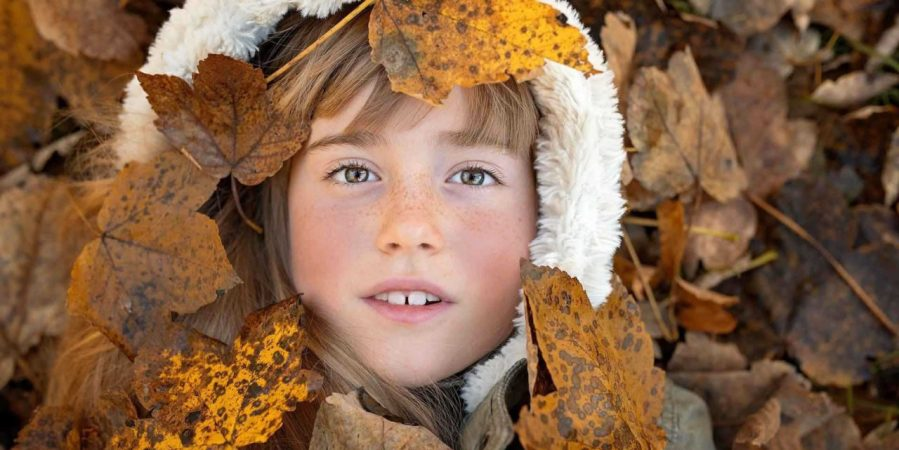 How to edit autumn portraits to boost colour