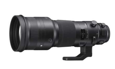 Sigma adds 500mm f/4 DG OS HSM to Sports range