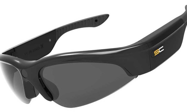 These Sunnycam Activ glasses boast an HD video camera between the eyes