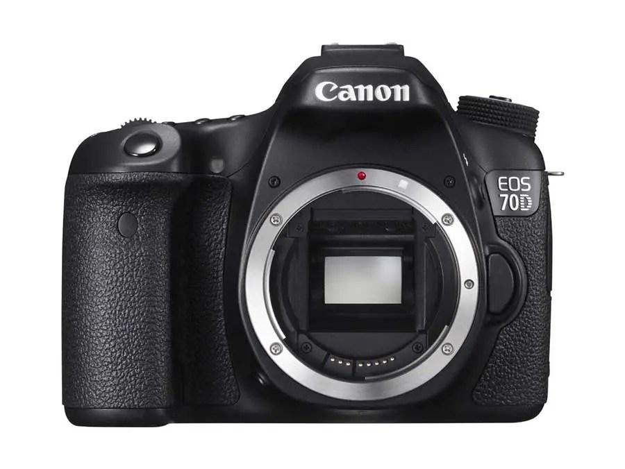 01 Canon EOS 70D