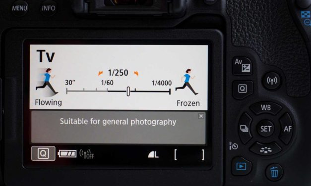 Canon 800D: Guided vs Standard mode