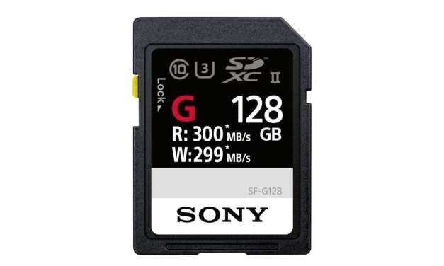 Sony announces SF-G SD cards, the World's fastest SD Cards