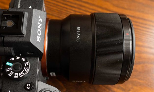 Hands-on Sony FE 85mm F1.8 review